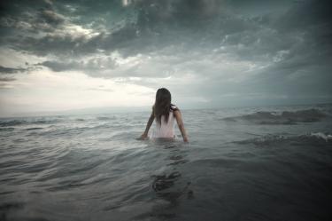 Creature in the sea